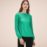 Maje Top with pleating