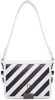Off-White Off White White Diag Flap Bag