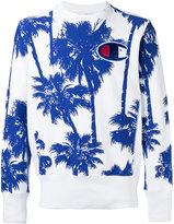 Champion palm tree print sweatshirt