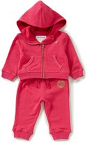 True Religion Baby Girls 3-24 Months French Terry Zip-Front Hoodie & Matching Pant Set