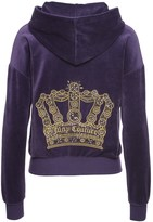 Juicy Couture Logo Velour Geo Crown Sunset Jacket