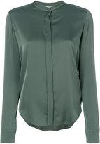 Vince collarless blouse - women - Silk/Spandex/Elastane - 2