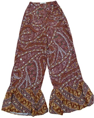 Spell & The Gypsy Collective Multicolour Viscose Trousers