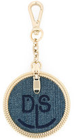Diesel denim charm keyring - women - Cotton/metal - One Size
