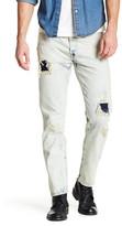 "Levi's Levi&s 501 Customized Tapered Denim Jean - 30-34"" Inseam"