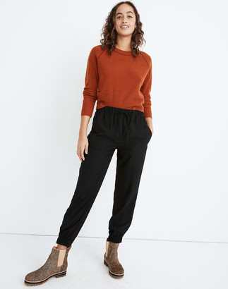 Madewell Drapey Seamed Track Trousers