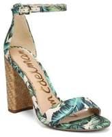 Sam Edelman Wallpaper Palm Print Sandals