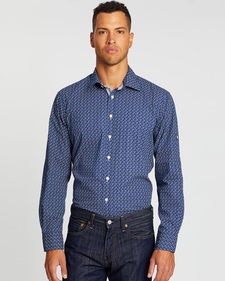 3 Wise Men The Wiseman James Casual Tailored Shirt