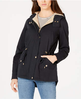 Collection B Juniors' Hooded Anorak Jacket