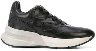 Alexander McQueen padded flatform sneakers
