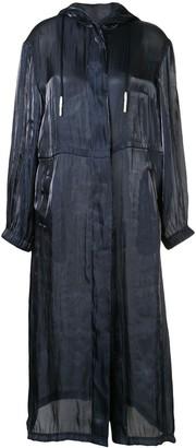Manning Cartell long-line jacket