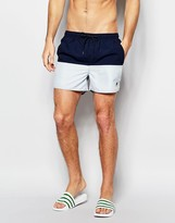 French Connection Swim Shorts In Two Tone