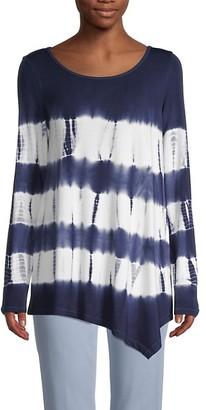 Fever Tie-Dye Long-Sleeve Top