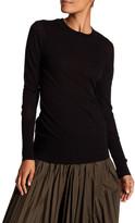DKNY Long Sleeve Crew Neck Sweater