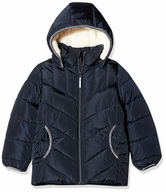 Name It Girl's Nmfmus Puffer Jacket Camp