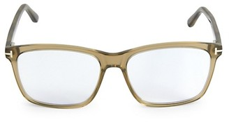 Tom Ford 58MM Square Optical Glasses