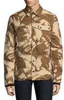 Woolrich Alaska Down-Filled Camouflage Quilted Jacket