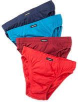 Jockey Cotton Brief Pack of Four
