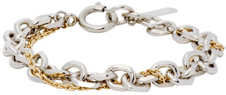 Justine Clenquet Silver and Gold Dana Bracelet