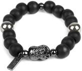 ICON BRAND Black Double Dealt Bracelet