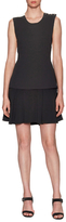 Derek Lam 10 Crosby Colorblocked Fit And Flare Dress