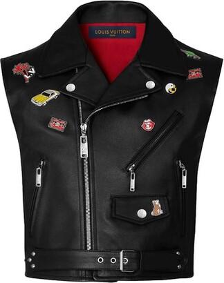 Louis Vuitton Calfskin Vest With Pins