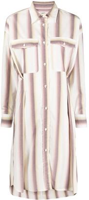 Etoile Isabel Marant Vertical-Stripe Pattern Dress