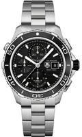 Tag Heuer Gents Aquaracer Calibre 16 Automatic Chronograph Watch CAK2110.BA0833