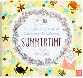 Original Penguin Summertime Coloring Book of Cards