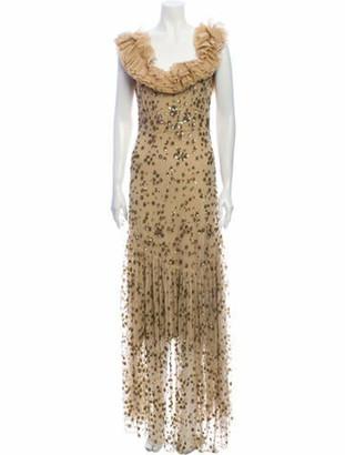 LoveShackFancy Square Neckline Long Dress w/ Tags