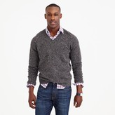 J.Crew Marled lambswool V-neck sweater