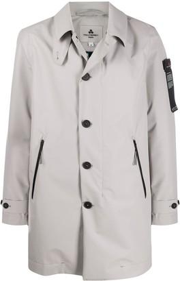 Peuterey Unlined Button-Up Raincoat