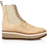 Thumbnail for your product : Clergerie Brendy Suede Lace-Up Chelsea Boots