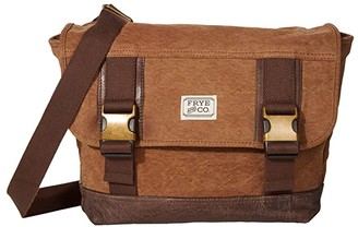 Frye Jackson Messenger (Tan) Messenger Bags