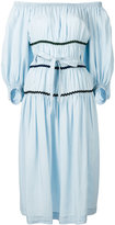 Sonia Rykiel off-shoulder dress - women - Tencel - 36