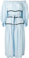 Sonia Rykiel off-shoulder dress - women - Tencel - 42