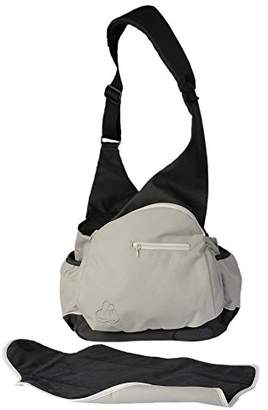 BEIGE Claessen's Kids 2-in-1 Diaper Bag and Baby Carrier Bag,
