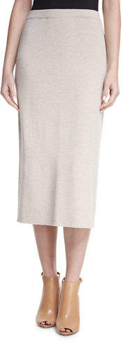 Eileen Fisher Washable Wool Crepe Pencil Skirt, Plus Size