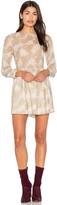 Anine Bing Printed Cotton Dress