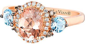 LeVian Le Vian 14K Rose Gold 1.38 Ct. Tw. Diamond & Gemstone Ring