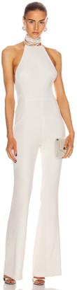 Galvan Calypso Jumpsuit in White | FWRD