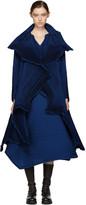 Issey Miyake Blue Polygon Coat