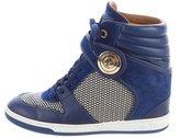 Louis Vuitton Postmark High-Top Sneakers