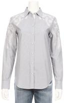 Rag & Bone Stripe Sahara Eyelet Shirt