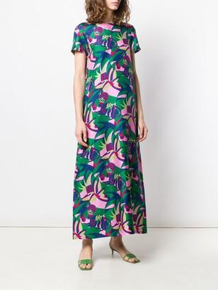 La DoubleJ Colour-Block Flared Dress