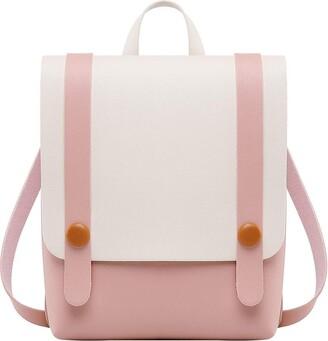 Sonnena Bags Women's Leather Backpack Sonnena Rucksack Ladies Shoulder Bags Handbag Vintage Casual Daypack for Work School