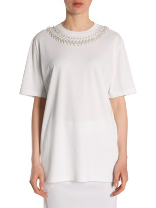 Givenchy round collar t-shirt