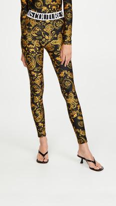 Versace Jeans Couture Paisley Print Leggings
