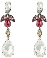 Oscar de la Renta Bold Teardrop Medium Drop C Earrings