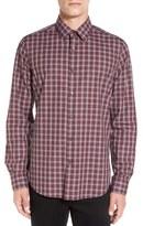 Theory Men's 'Sylvain' Trim Fit Check Sport Shirt